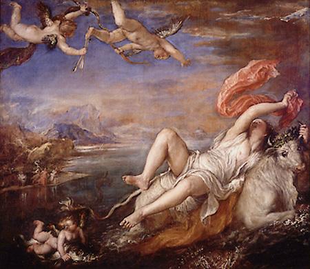 「europa tiziano」の画像検索結果